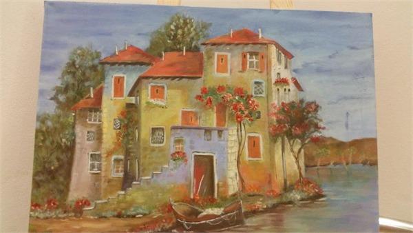 ציור בתערוכה