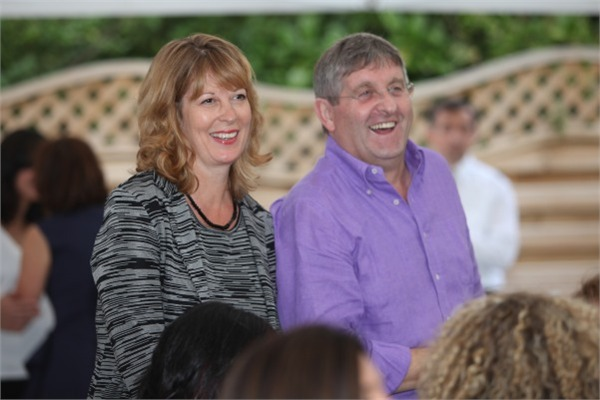 Katie and Giancarlo Caldesi