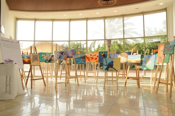 Exhibition at Kiryat Motzkin for ICA