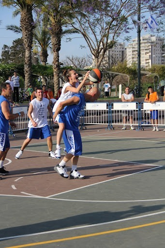 ICA Street Ball Exhibition Game