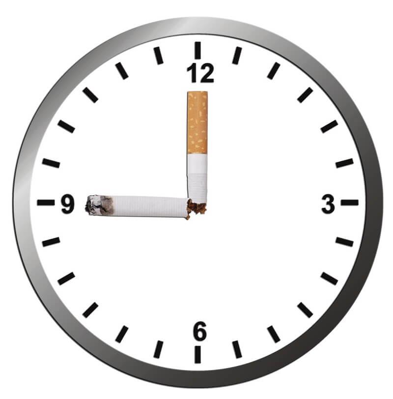 שעון חיווי של סיגריות