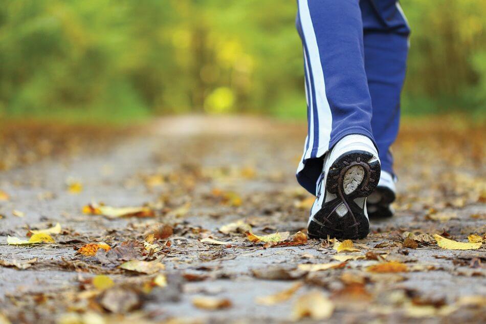 בן אדם יוצא לפעילות גופנית